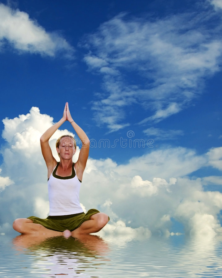 Download Relaxation stock image. Image of contemplation, edge, meditating - 2533539
