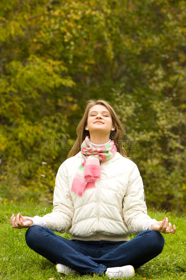Relaxation photographie stock libre de droits
