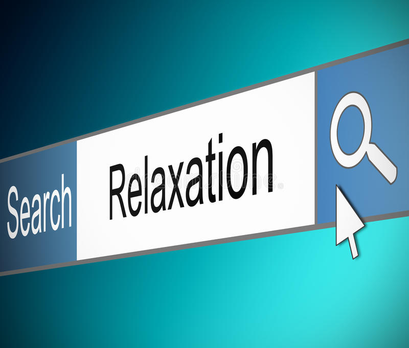 Download Relaxation concept. stock illustration. Illustration of break - 29242636