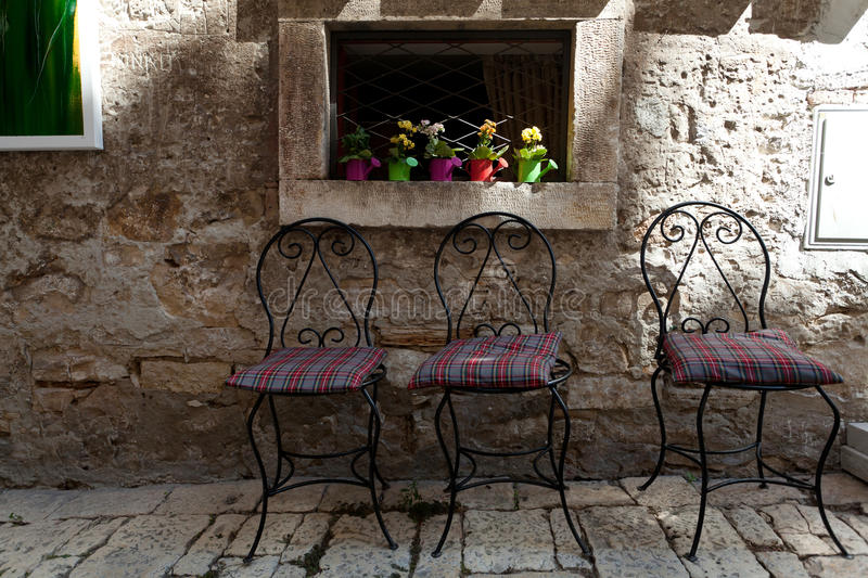 Download Relaxation Corner stock photo. Image of street, chair - 23985192