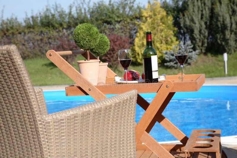 Relaxation de jardin   photographie stock
