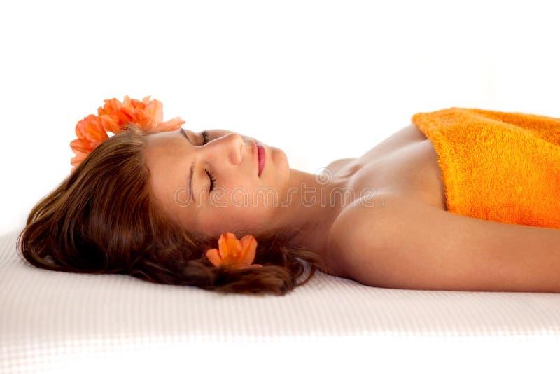Relaxation et bien-être photos stock