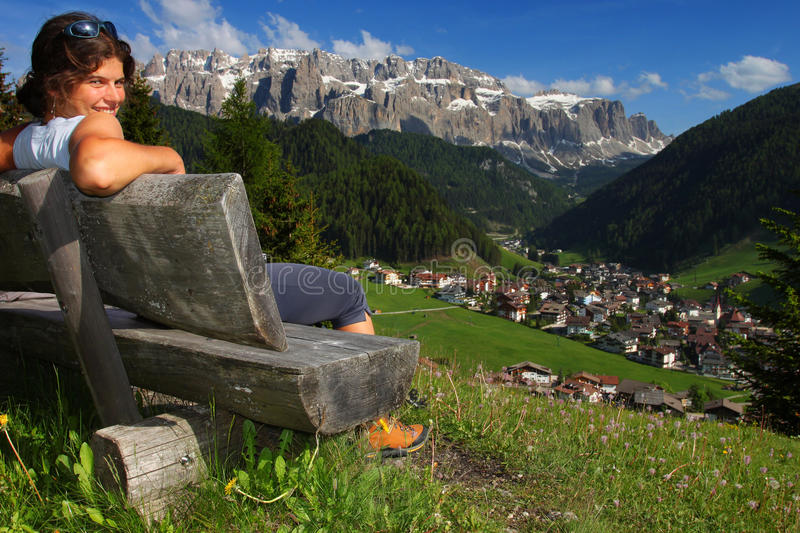 Download Relaxation In The Mountains Stock Photo - Image: 14771120