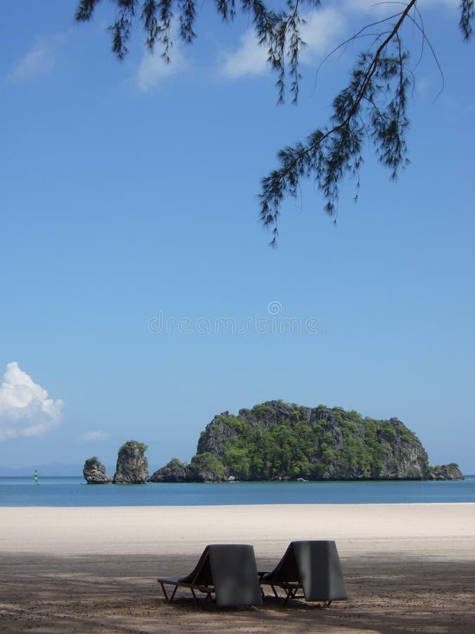 Free Relaxation On Tangjung Rhu Beach Royalty Free Stock Photo - 5142565