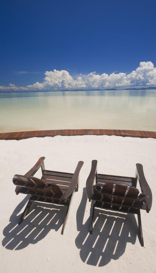 relaxation parfaite d'île tropicale photos stock