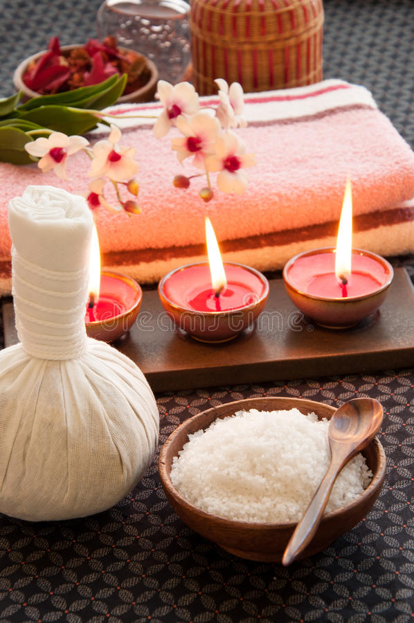 Relaxation Spa Concept Royalty Free Stock Photos