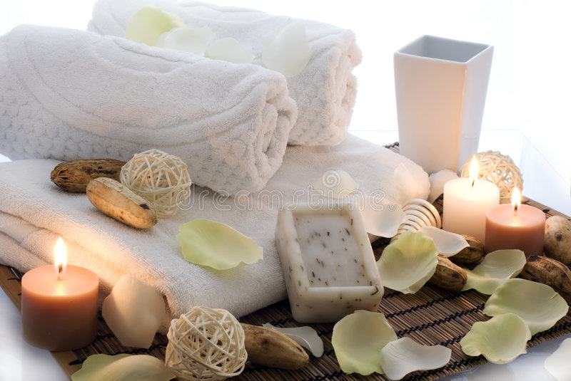 Download Relaxation Time stock photo. Image of light, flavor, massage - 8363066
