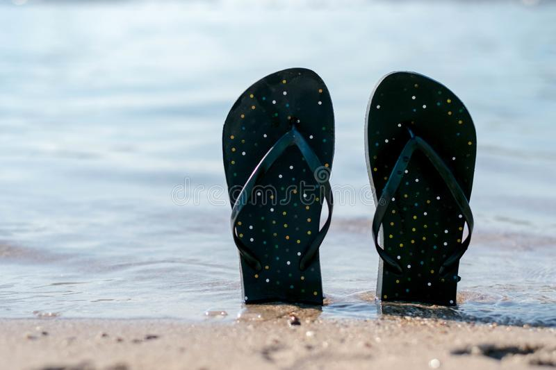 Relaxation tropicale de plage image stock