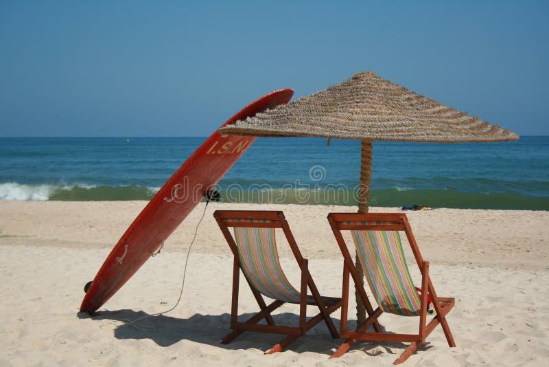 Relaxe durante o tempo de verão fotografia de stock