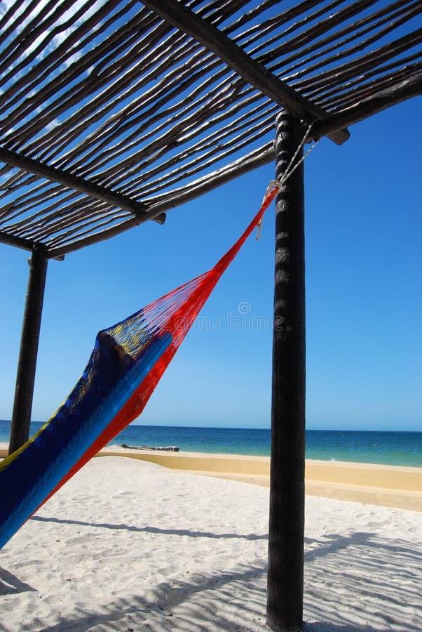 Relaxe na praia fotos de stock royalty free