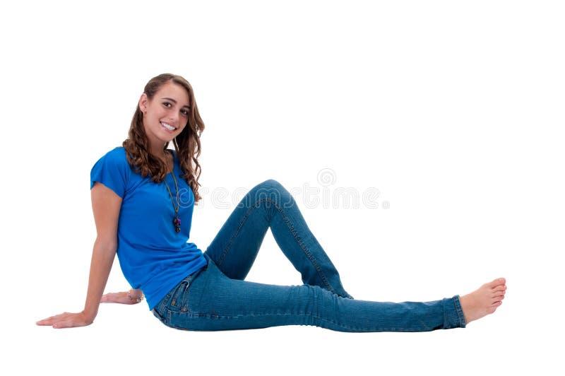 relaxed предназначенное для подростков стоковые изображения rf