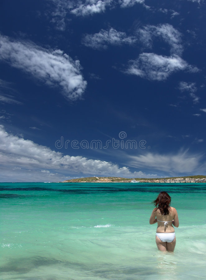 Download Relaxed stock photo. Image of bikini, sand, summer, south - 456352