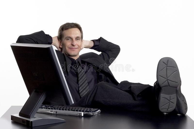 Relaxed stock image