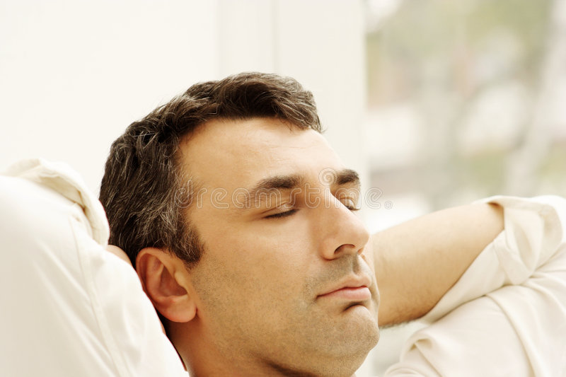 Download Relaxed stock image. Image of company, face, relaxation - 840899