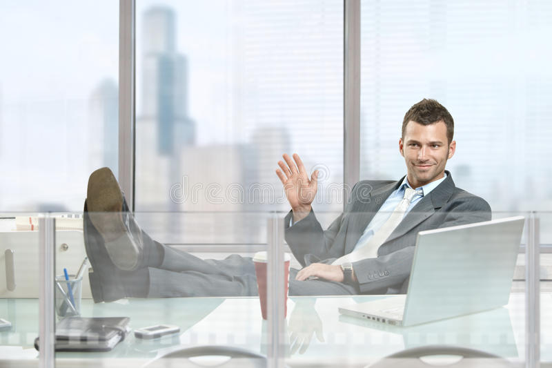 Download Relaxed businessman stock image. Image of caucasian, adult - 11885337