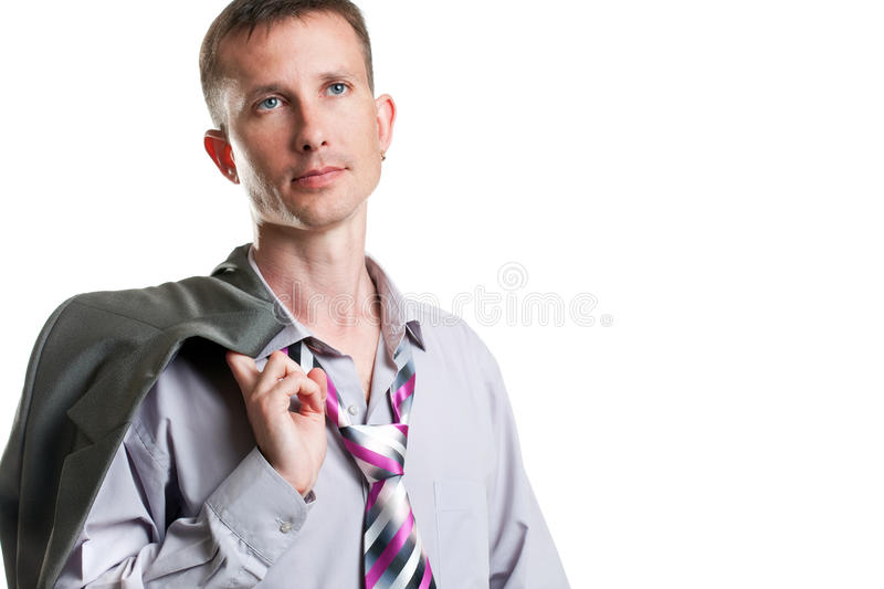 Download Relaxed businessman stock photo. Image of friendly, caucasian - 14804244