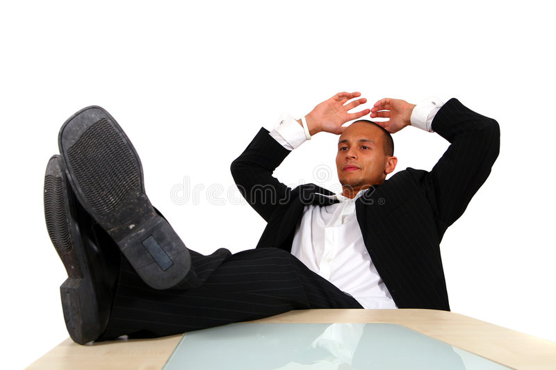 Download Relaxed Businessman Royalty Free Stock Images - Image: 6107469