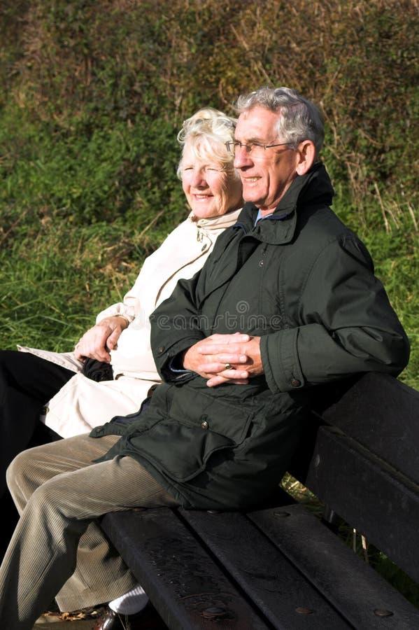 Relaxed Couple stock photos