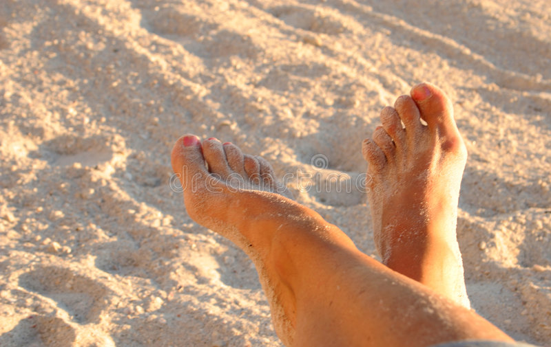 Download Relaxed feet stock photo. Image of beauty, rock, feet, relax - 414932