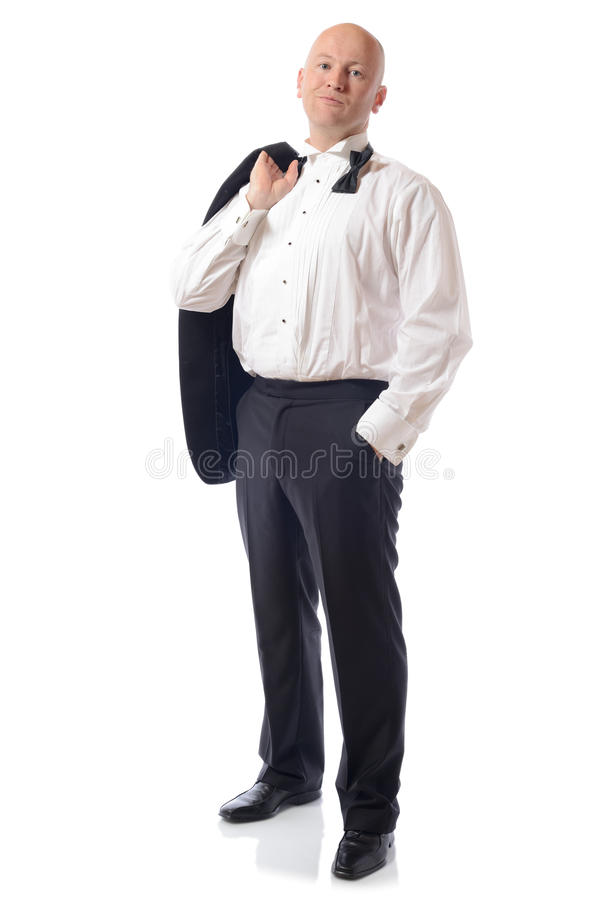 Download Relaxed tuxedo stock image. Image of manager, full, copy - 27088853