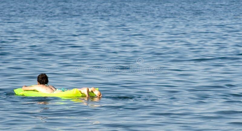 relaxin morza obrazy stock