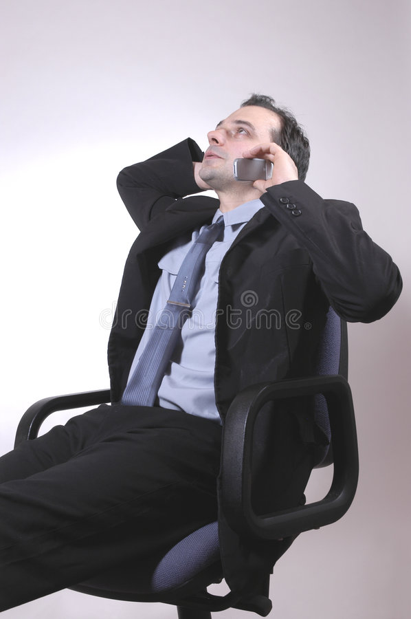 Relaxing stock image