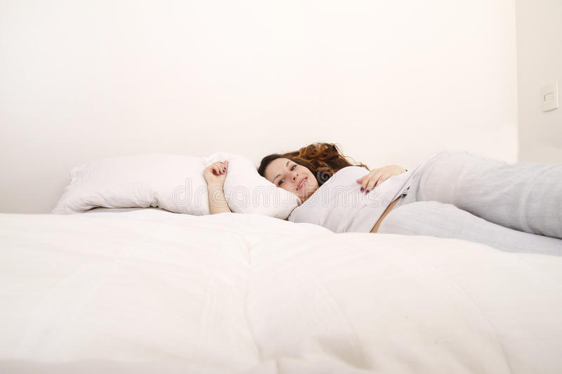 Download Relaxing stock image. Image of happy, lying, daydream - 28644291