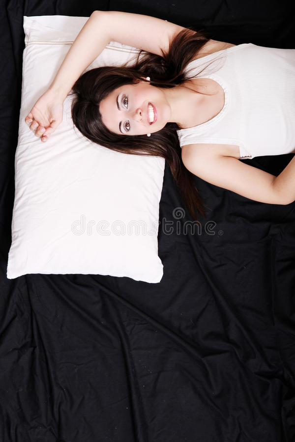 Download Relaxing stock image. Image of laying, female, enjoy - 29682649