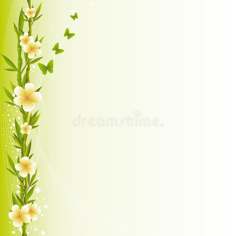 Relaxing Background royalty free illustration