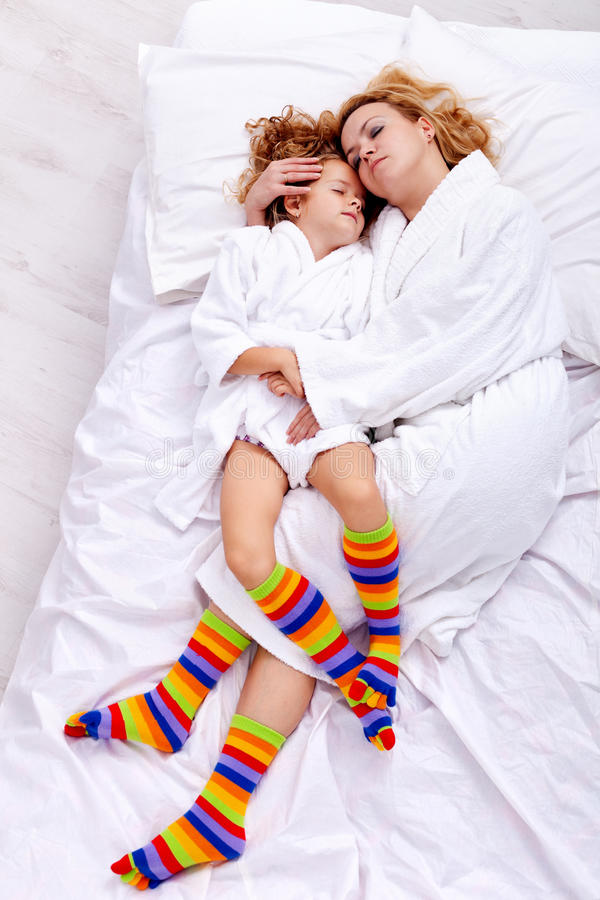 Download Relaxing after bath stock photo. Image of laying, laughing - 23423182