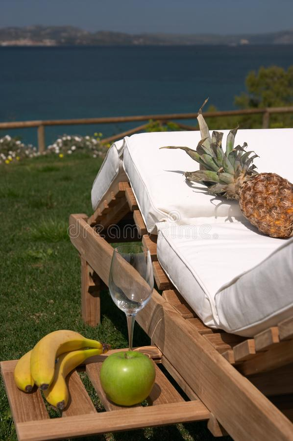 Relaxing breakfast, Cephalonia
