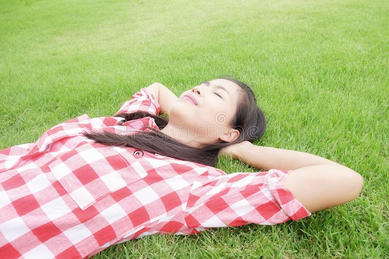 Relaxing concept. royalty free stock photography