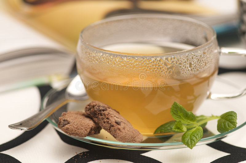 Download A relaxing cup of tea stock photo. Image of cinnamon, chip - 7230342