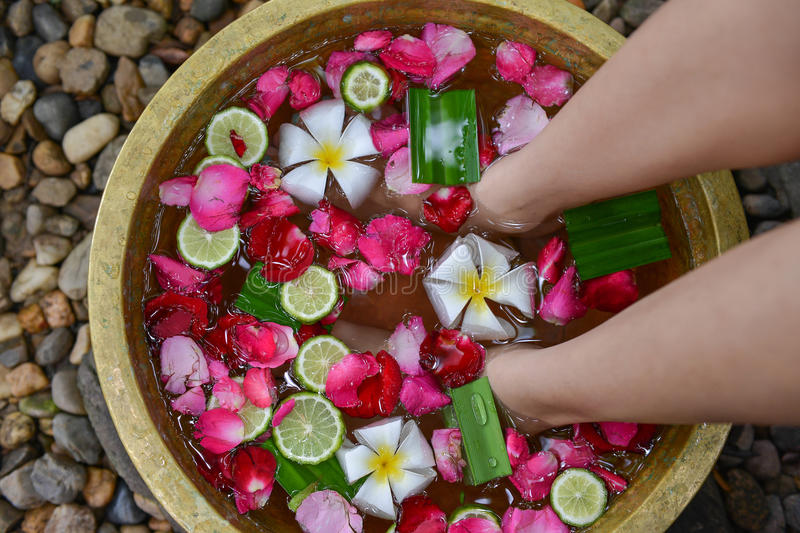 Download Relaxing For Foot Massage 4 Stock Photo - Image: 32176910
