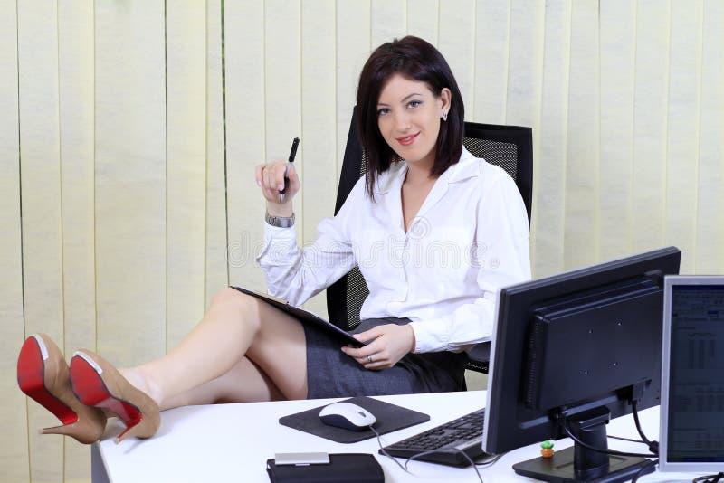 Relaxing job royalty free stock photos