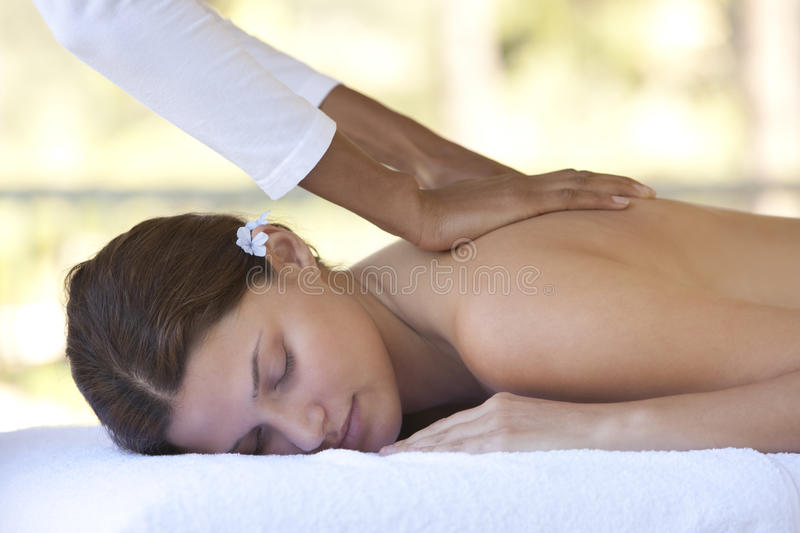 Download Relaxing massage stock image. Image of massage, massaging - 11257537