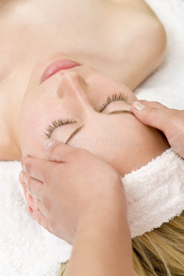 Relaxing Massage stock images
