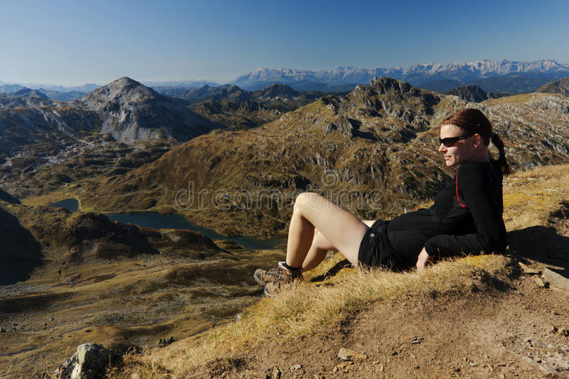Download Relaxing in the mountains stock photo. Image of high - 28725622