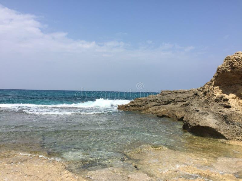 Relaxing ocean stock photography