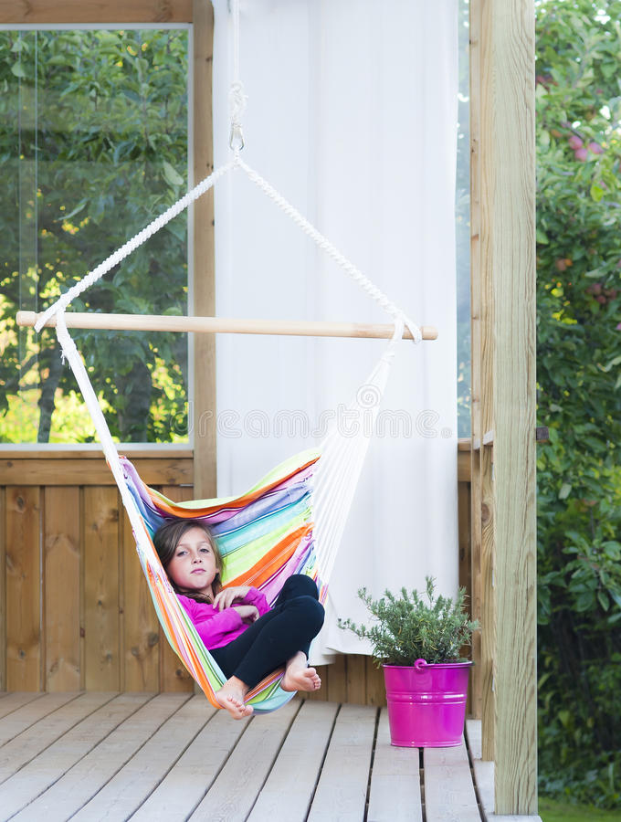 Free Relaxing On The Porch Stock Photography - 16621652