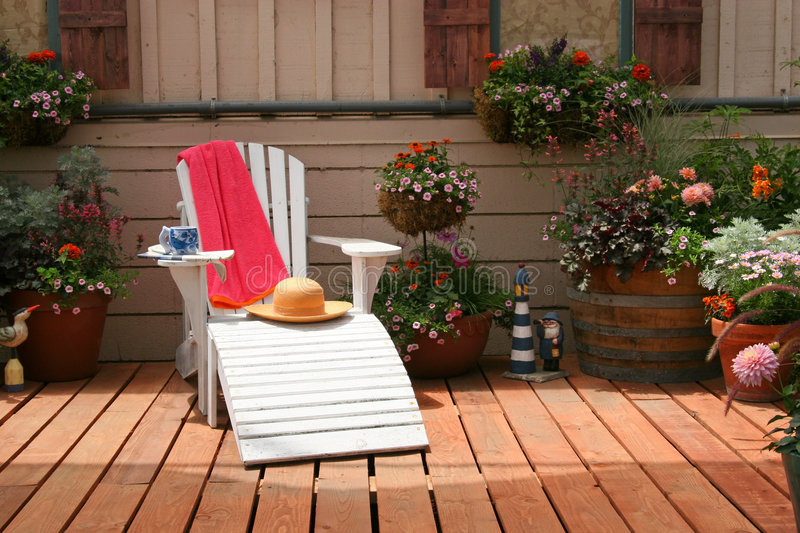 Relaxing Place to Sit royalty free stock images