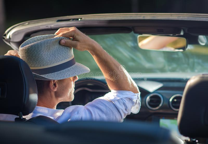 Relaxing Summer Road Trip stock image