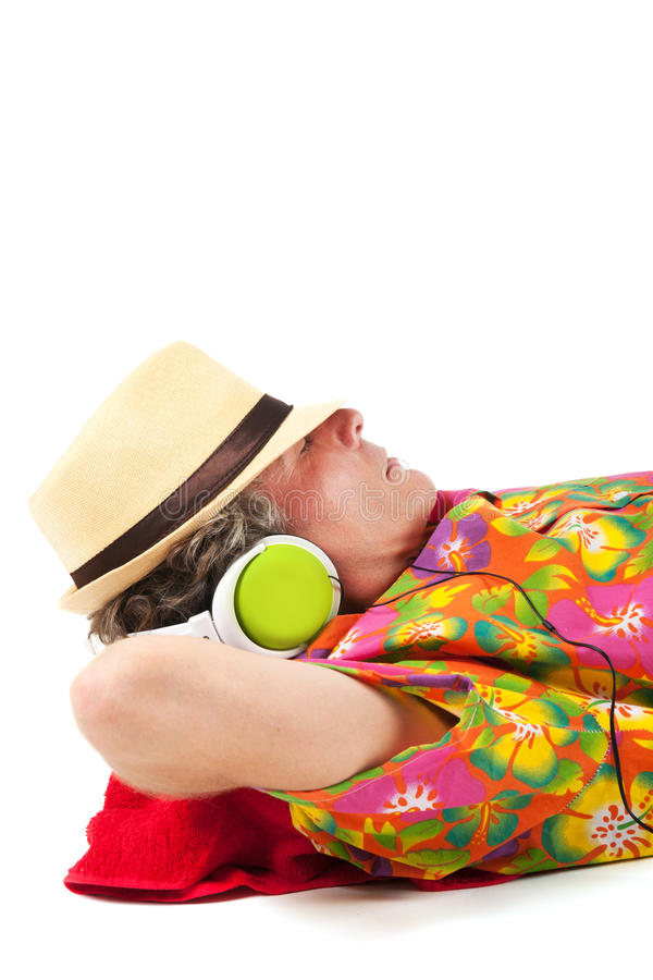 Download Relaxing on vacation stock image. Image of sound, colorful - 26646853