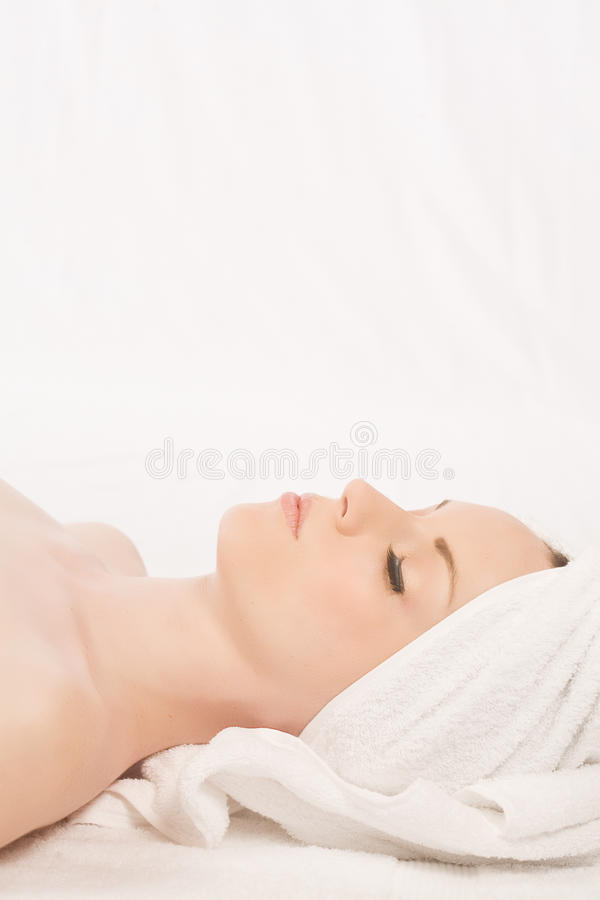 Download Relaxing white stock image. Image of glamour, attractive - 14457949