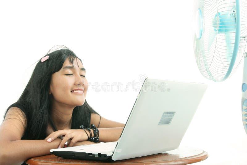relaxing woman στοκ φωτογραφίες με δικαίωμα ελεύθερης χρήσης