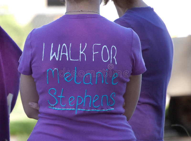 Download Relay For Life I walk For: editorial stock image. Image of celebrating - 14702724