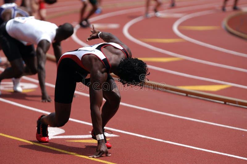 Relay Runner stock image