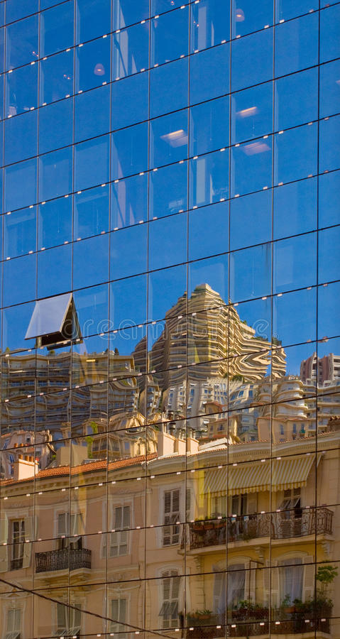 Relections architectural photo stock