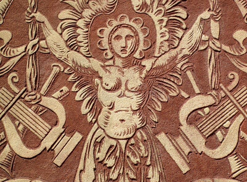Relevación del santo Cecilia foto de archivo libre de regalías