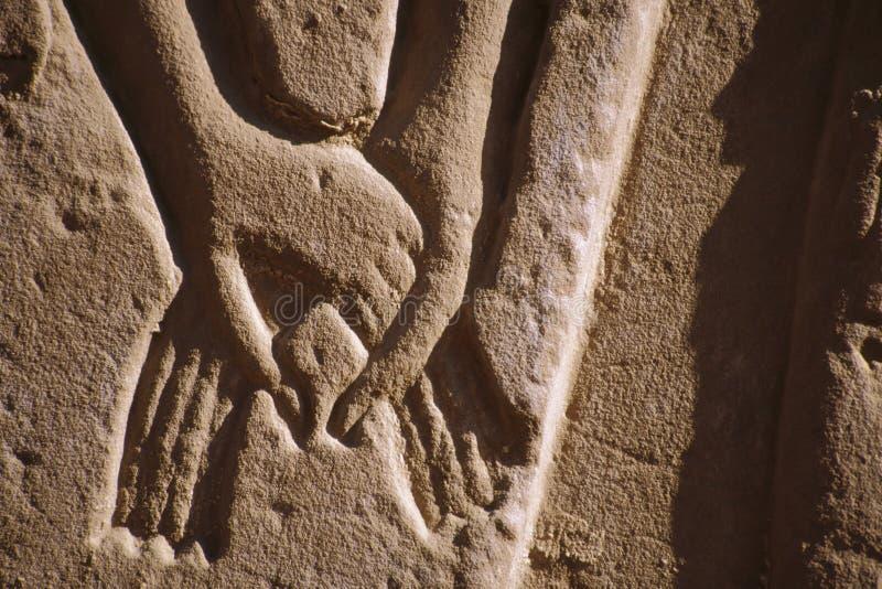 Relevación egipcia imagen de archivo libre de regalías